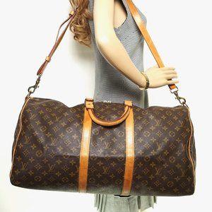 Auth Louis Vuitton Keepall 55 #5934L31